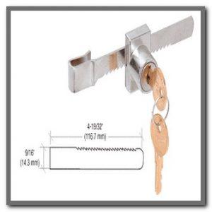 Ratchet Lock (Keyed Alike)