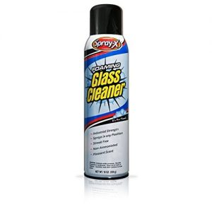 Spray X Foaming Glass Cleaner