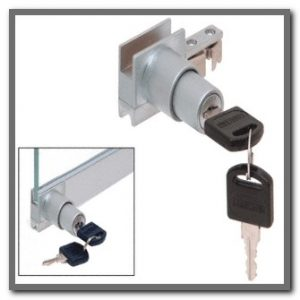 Anodized Track Lock