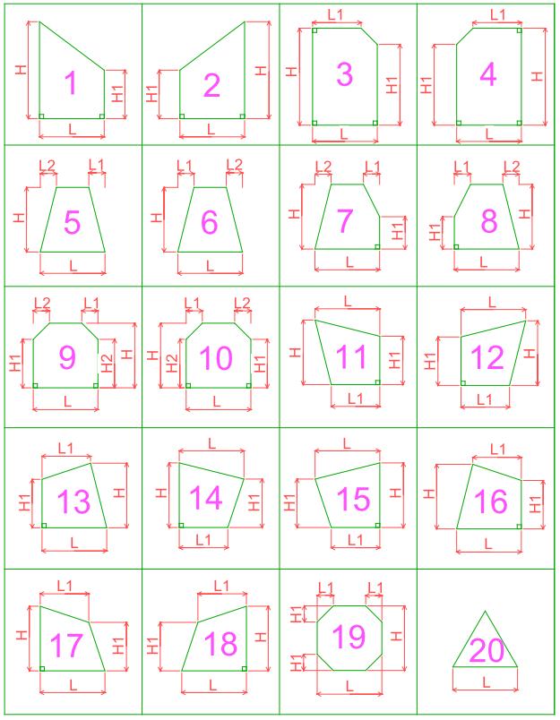 shapes 1-20