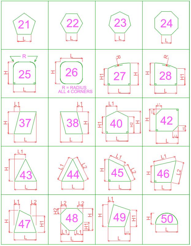shapes 21-50
